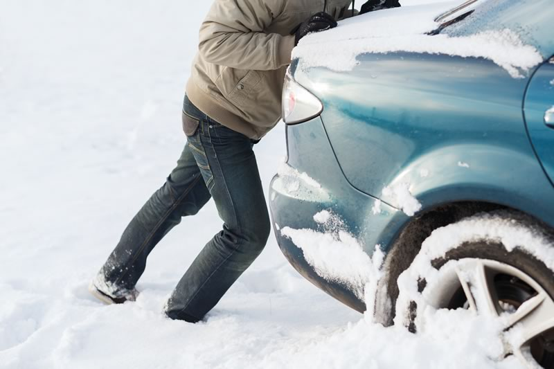 6 Tips for When You're Stuck in the Snow