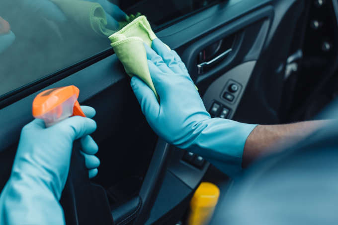 How to Clean and Disinfect Your Vehicle This Spring
