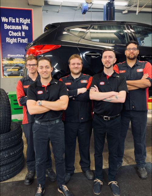 AAMCO Kitchener Team