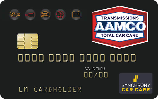 AAMCO Synchrony Car Care(TM) Credit Card - Click to apply