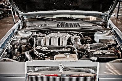 Radiator & engine