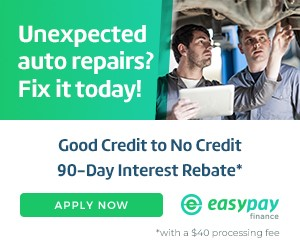 Easy Pay - 90 Day Interest Rebate