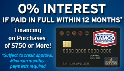 Synchrony 12 Months Promotional Financing - Call for details