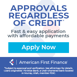 American First Finance Approval Regardless of Credit