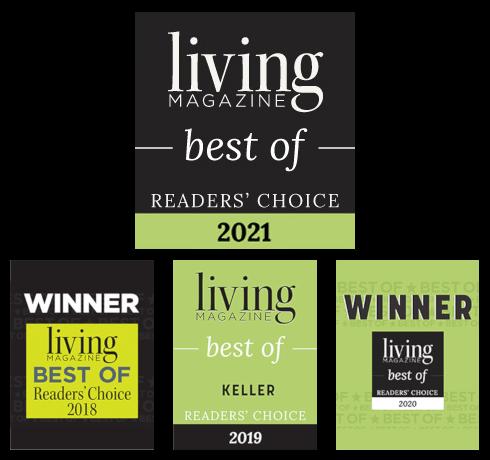 AAMCO Keller, TX - Living Magazine Awards