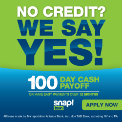 Snap Financing -100 Day Cash Payoffs